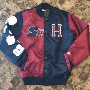 HUF X Starter Black Label Varsity Jacket